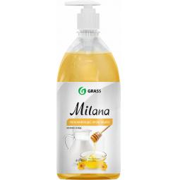 Крем-мыло жидкое увлажняющее GraSS Milana «Молоко и мед»