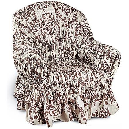 Купить Натяжной чехол на кресло Еврочехол «Фантазия. Венеция»
