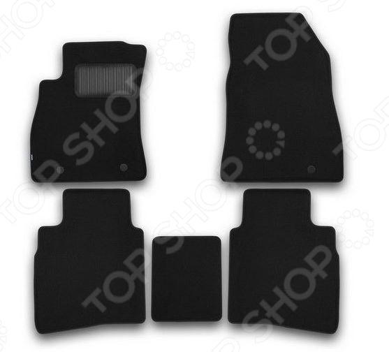 Комплект ковриков в салон автомобиля Klever Nissan Sentra 2014 Premium