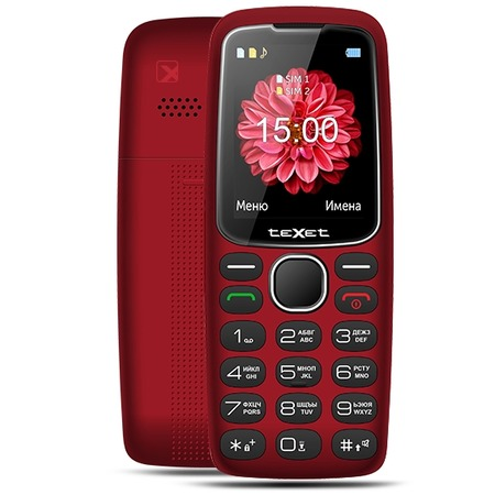 Мобильный телефон для пожилых людей Texet TM-B307