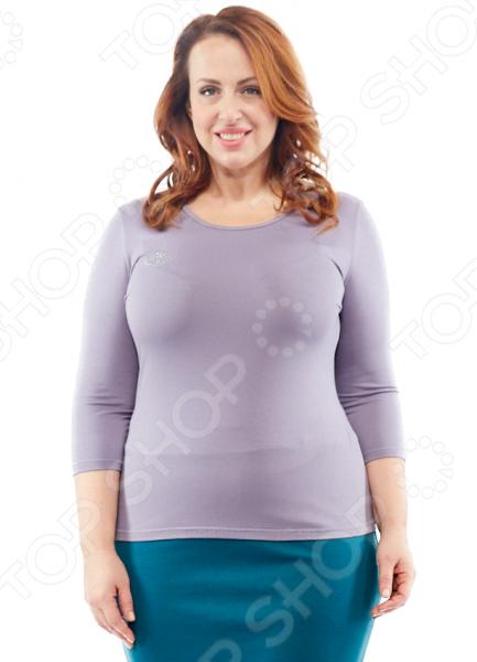 Комплект Laura Amatti «Милка». Цвет: серый, белый mannon женские блузы на лето