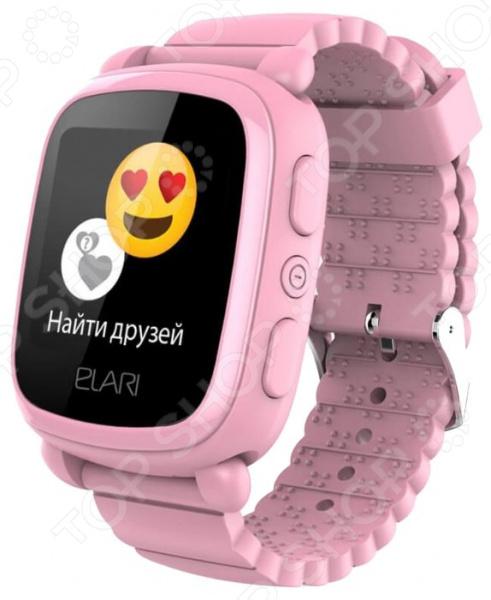 Смарт-часы детские Elari KidPhone 2 цена и фото