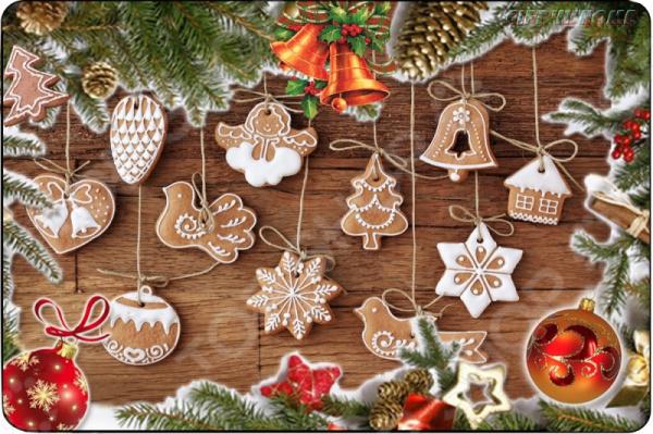 Коврик сервировочный Gift'n'Home «Рождество»