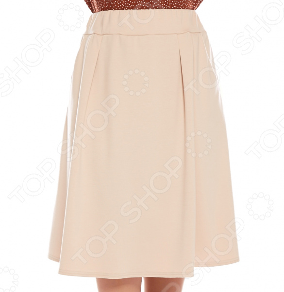 Юбка Матекс «Изабель». Цвет: бежевый платье матекс уютная цвет синий