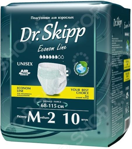 Подгузники для взрослых Dr.Skipp Econom Line Подгузники для взрослых Dr.Skipp 7028 /М-2