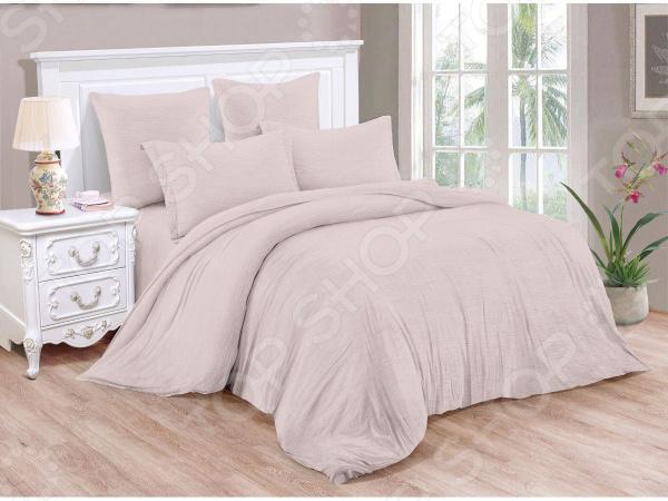 Фото - Комплект постельного белья Cleo Pastel Symphony 040-PT постельное белье этель кружева комплект 2 спальный поплин 2670978