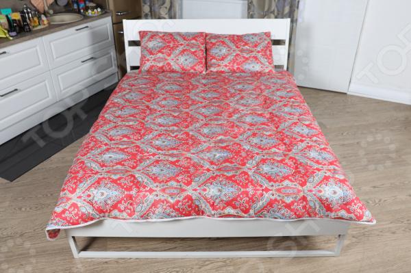 Одеяло «Дачное. Красные огурцы»