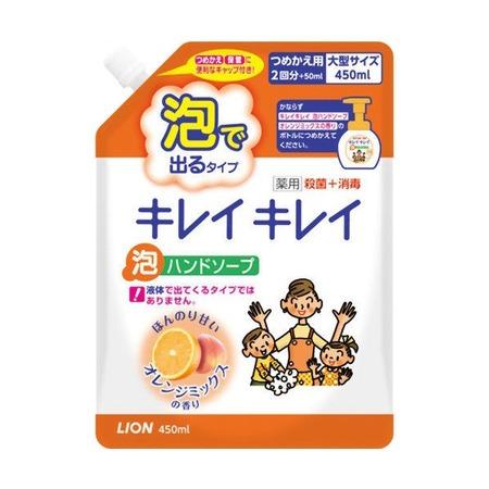 Купить Запасной блок с жидким мылом для рук Lion с ароматом апельсина