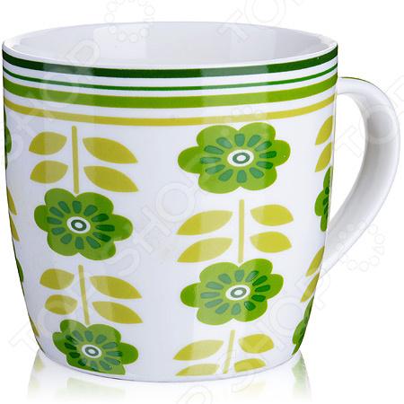 Кружка Loraine LR-24474-2 кружка loraine цветы lr 24474 зеленый 320 мл