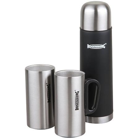Купить Набор подарочный: термос и кружки Rosenberg RSS-420104