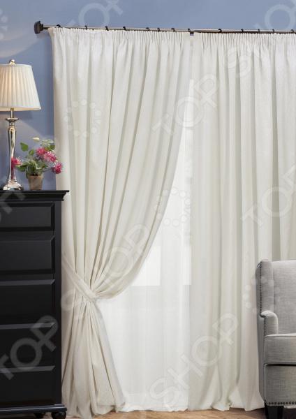 Комплект штор Kauffort Domino шторы интерьерные kauffort комплект штор barolo s 2 шторы 136х175см 2 подхвата