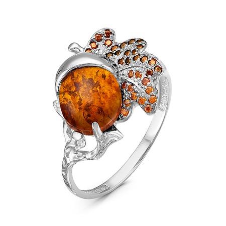 Купить Кольцо «Янтарный мотив» 1000-0053