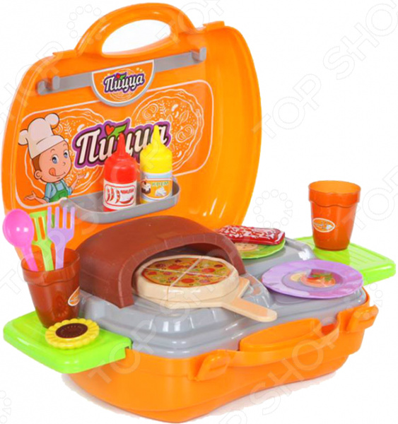 Игровой набор для ребенка Yako «Пицца» игровые наборы yako игровой набор пицца
