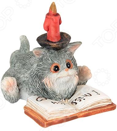 Фигурка декоративная Elan Gallery «Кот с книгой»
