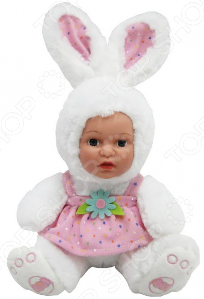 Мягкая игрушка Anna De Wailly «Зайчик в платьице»