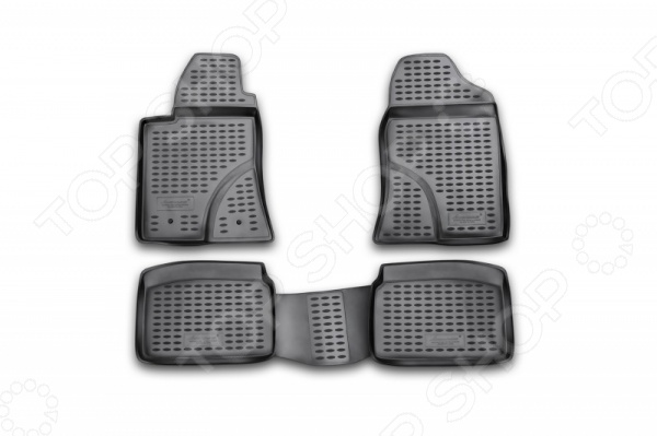 Комплект ковриков в салон автомобиля Novline-Autofamily Toyota Avensis 2003-2009