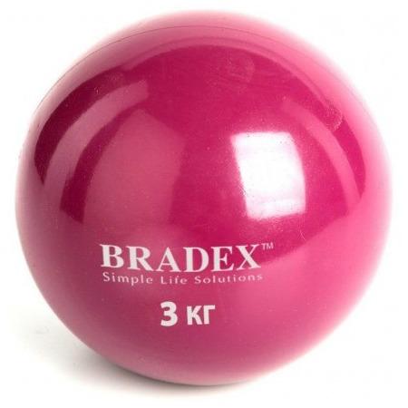 Купить Медбол Bradex 3 кг