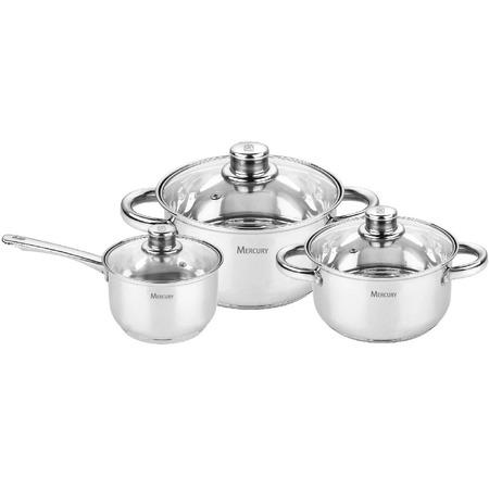 Купить Набор посуды Mercury MC-6027