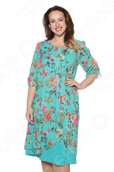 Платье Pretty Woman «Розетта». Цвет: мятный