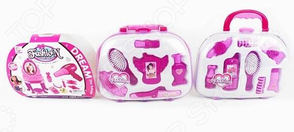Игровой набор для ребенка Наша Игрушка «Чемоданчик маленькой модницы». В ассортименте игровой набор наша игрушка чемоданчик стоматолога 13 предметов