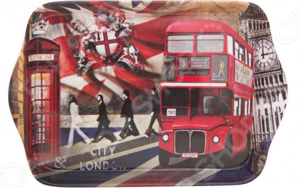 Поднос сервировочный Gift'n'home «Лондонские фантазии» Gift'n'home - артикул: 1754471