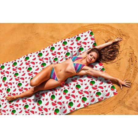 Купить Покрывало пляжное Сирень «Арбузный фреш»