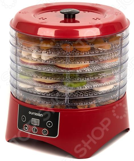 Сушилка для овощей и фруктов Oursson DH3501D/RD