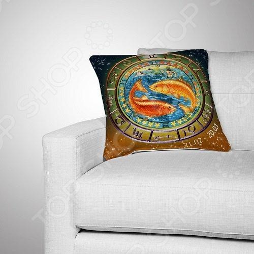 Подушка декоративная МарТекс «Рыбы»