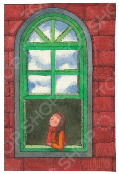 Обложка для автодокументов Mitya Veselkov «Девушка в зеленом окне»