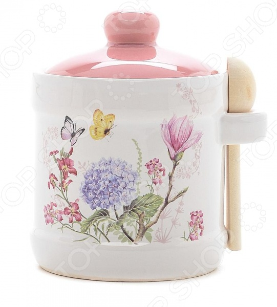 Сахарница Loraine LR-25630 «Бабочки» стоимость