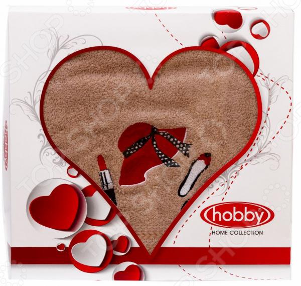 Полотенце махровое Hobby Home Collection Love. Размер: 50х90 см