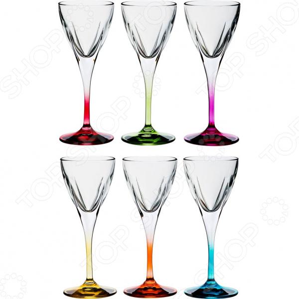 Набор бокалов для вина RCR «Фьюжн Колорс» 305-125 набор стаканов rcr имперо 305 112