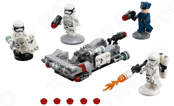 Конструктор для мальчика LEGO Star Wars «Спидер Первого ордена» конструктор lepin star wnrs снежный спидер первого ордена 458 дет 05002