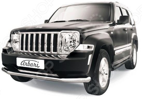 Защита переднего бампера Arbori Jeep Cherokee KK, 2012-2013