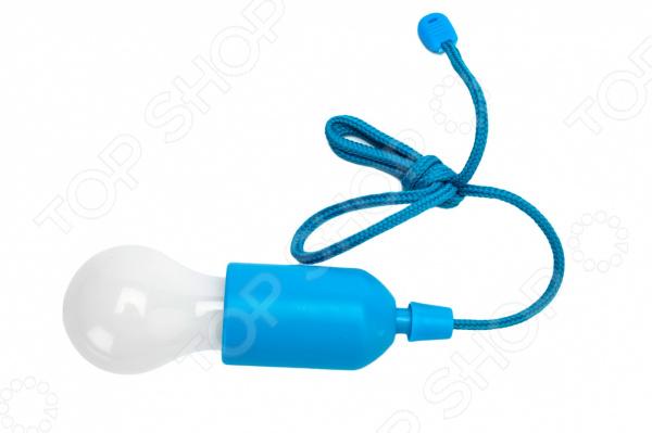 Светильник мобильный Bradex Лампочка практичный светильник для гардероба, кладовки или коридора. С таким светильником вам не потребуется даже розетка. Также его можно взять на пикник, поход или поездку, ведь его можно закрепить даже на ветке дерева или внутри палатки. Преимущества:  Приятный дизайн.  Не нагревается.  Не требует соединения от сети.  Не требуется замена лампочки.  Может быть использован для декорирования помещений и открытых площадок. Питается от 3 батареек типа AAA в набор не входят .