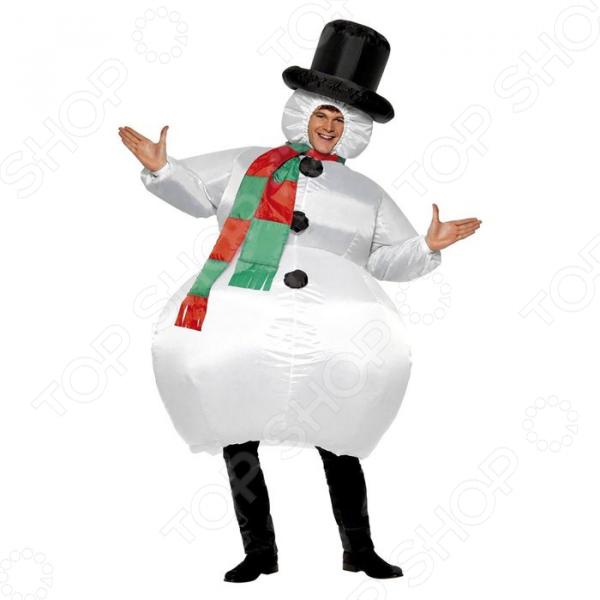 Zakazat.ru: Костюм надувной Просто-Полезно «Снеговик»