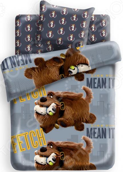 Детский комплект постельного белья Непоседа Тайная жизнь домашних животных «Макс и Дюк»