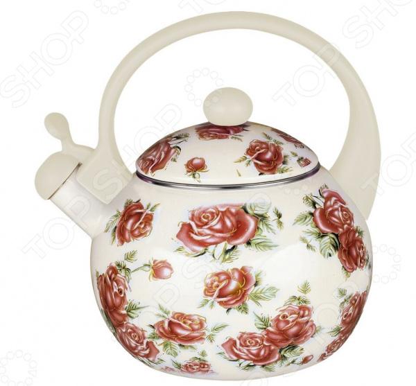 Чайник со свистком Чудесница ЭЧ-2522 чайник чудесница эч 2004 brown