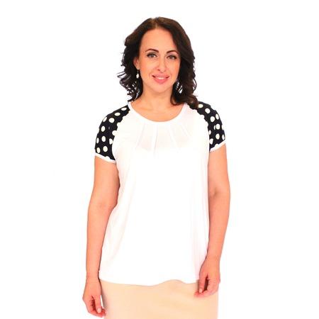 Купить Блуза Матекс «Жемчужное чудо». Цвет: белый