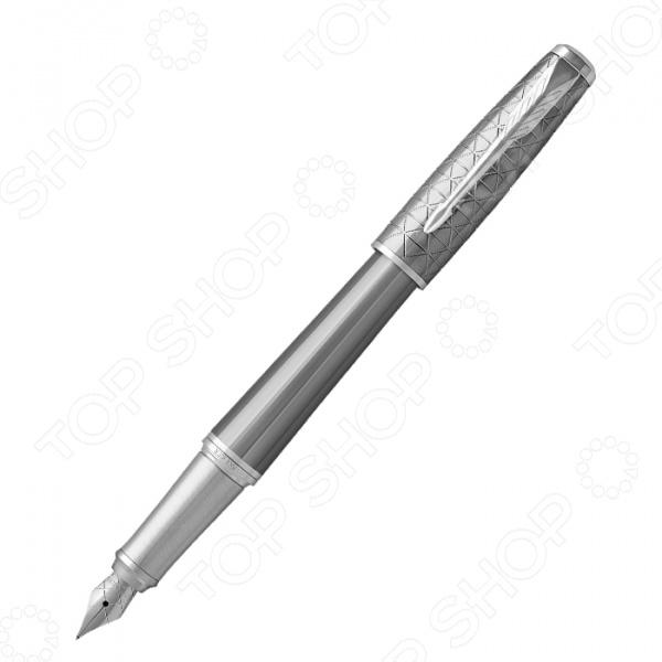 Ручка перьевая Parker Urban Premium Silvered Powder CT