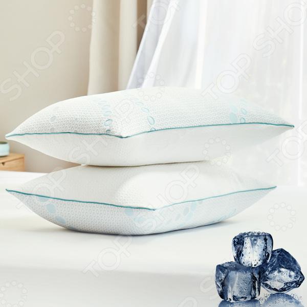 Подушка с эффектом охлаждения Dormeo 2 в 1