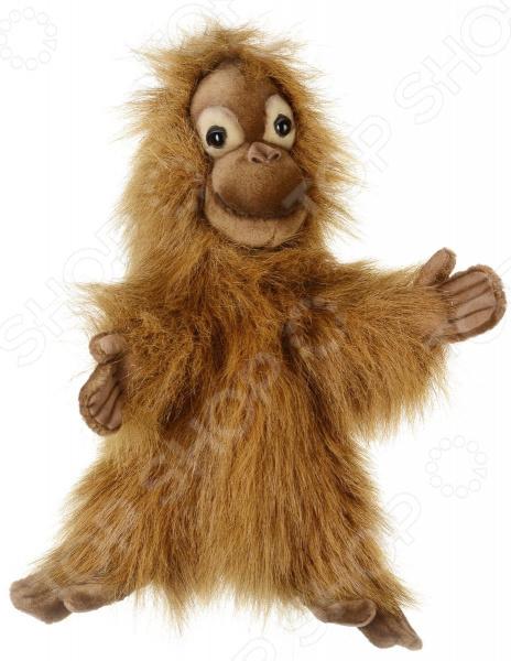 Мягкая игрушка на руку Hansa «Малыш орангутанга»