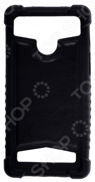 """Бампер универсальный skinBOX для смартфона. Диагональ дисплея: 5""""/5.2"""""""