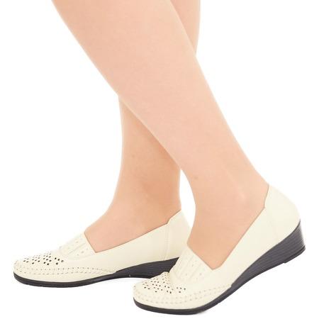 Купить Туфли EGO «Графиня». Цвет: бежевый