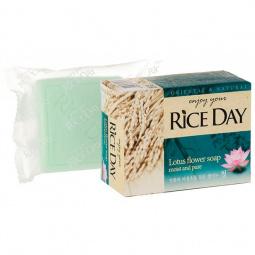 Мыло CJ Lion Rice Day с экстрактом лотоса
