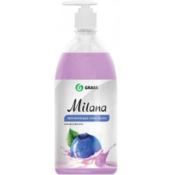 Крем-мыло жидкое увлажняющее GraSS Milana «Черника в йогурте»
