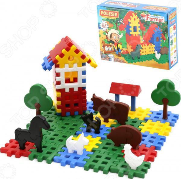 Конструктор игровой POLESIE «Фермер» в коробке Конструктор игровой POLESIE «Фермер» в коробке /