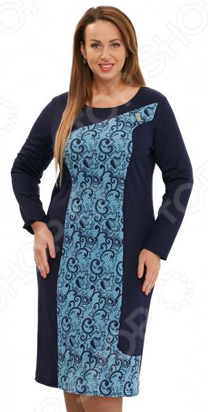 Платье Матекс «Лунная бабочка». Цвет: голубой цена 2017