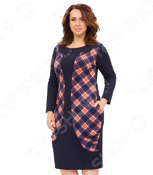 Платье Матекс «Агнешка». Цвет: мультиколор