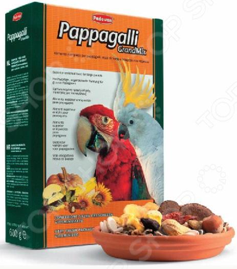 Корм для попугаев крупных размеров Padovan Grandmix Pappagalli